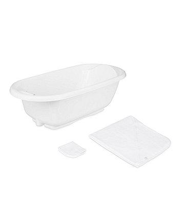 Mothercare White Bath Set