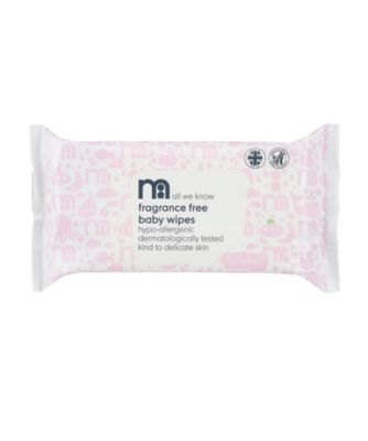 Mothercare Fragrance-Free Wipes 60pcs