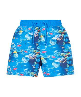 Mothercare Swimwear Aquarium Boardshorts