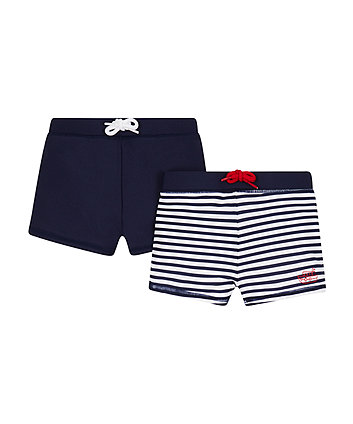 Mothercare Navy Stripe Trunkies