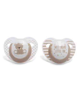 Mothercare Orthodontic Soothers 0m+ 2pcs - Unisex