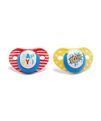Mothercare Orthodontic Soothers 6m+ 2pcs - Unisex
