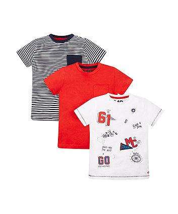 Bike Racing Tshirt - 3 Pack