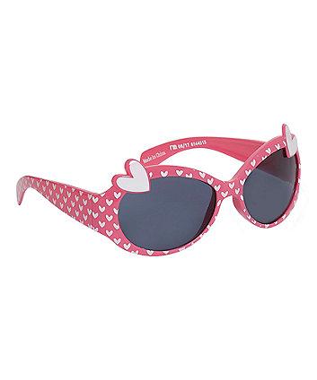 Mothercare Multicoloured Heart Sunglasses
