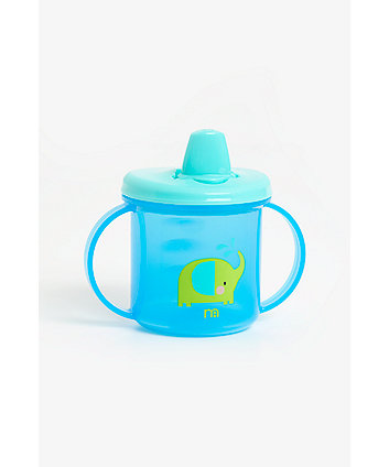 Mothercare Free Flow First Cup - Blue
