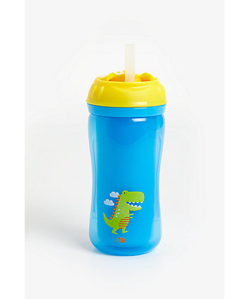 Mothercare Insulated Flexi Straw Cup - Boy