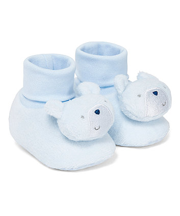 Mothercare Blue Bear Socktops