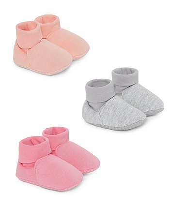 Mothercare My First Shoes - 3 Pack