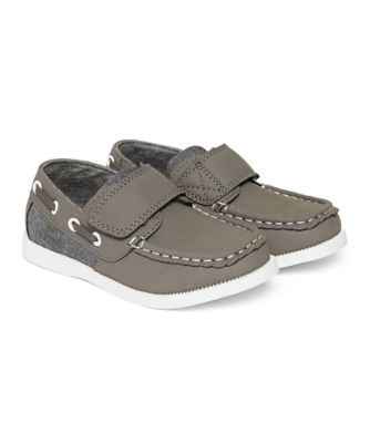 Mothercare Grey Boat Shoes