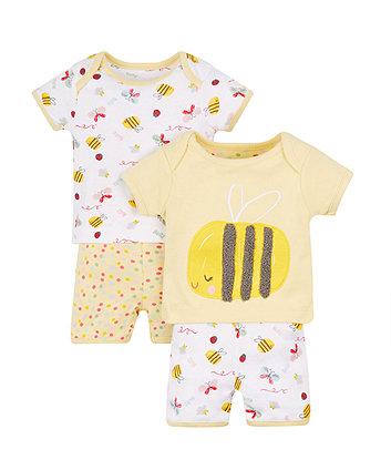Little Bee Pyjamas - 2 Pack