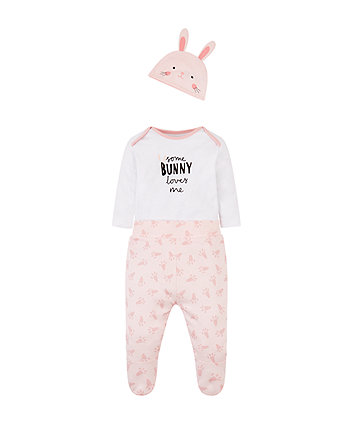 Some Bunny Loves Me 3-Piece Set