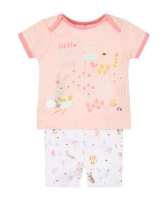 Mothercare Little Garden Shortie Pyjamas