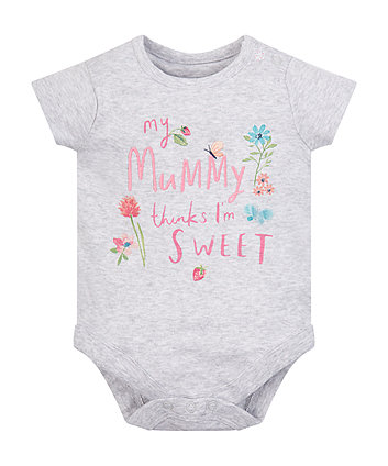 Mummy'S Little Sweetie Bodysuit