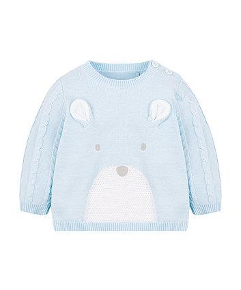 My First Bear Knitted Jumper