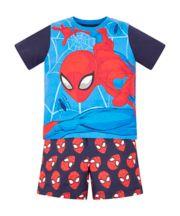 Spiderman Shortie Pyjamas