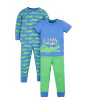 Crocodile Pyjamas - 2 Pack