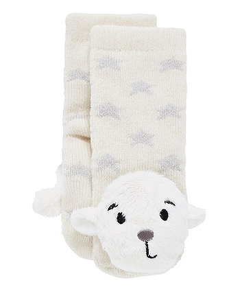 Mothercare My First Little Lamb Rattle Socks