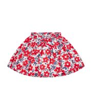 Mothercare Red And Blue Floral Skirt