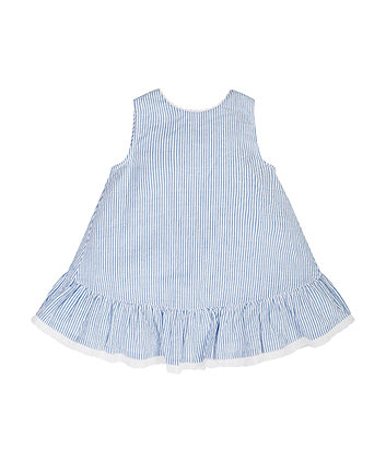 Mothercare Blue Striped Blouse