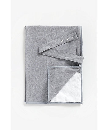 Mothercare Breastfeeding Shawl - Grey Jersey
