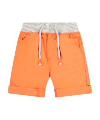 Mothercare Cute Seaside Orange Cruncy Cotton Shorts