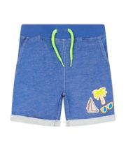 Mothercare Blue Shorts With Badges