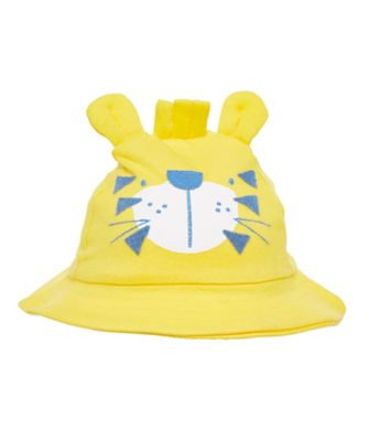 Mothercare Rainforest Pop Yellow Novelty Lion Sunhat