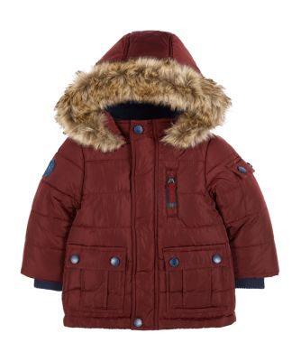 Mothercare Upspec Padded Burgundy Jacket