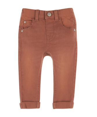 Mothercare Scandi Forest Rust Dyed Denim Trousers