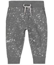 Grey Paint Splat Joggers
