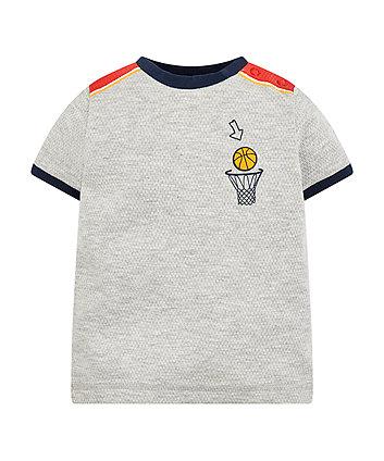 Grey Goal Scorer T-Shirt