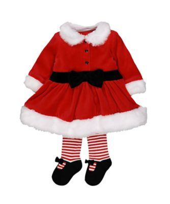 Mothercare Festive Christmas Mrs Santa Dress Up