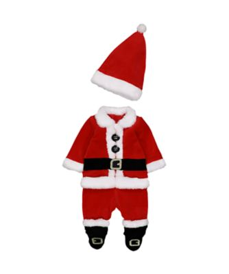 Mothercare Festive Santa All In One With Hat