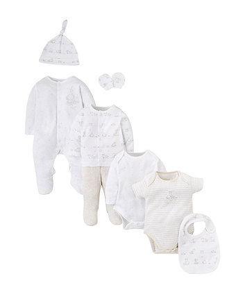 3fc3ac395e8 mothercare my first σετ 8 τεμαχίων - unisex