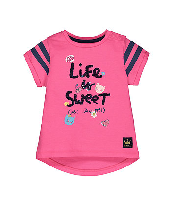 Pink Life Is Sweet T-Shirt