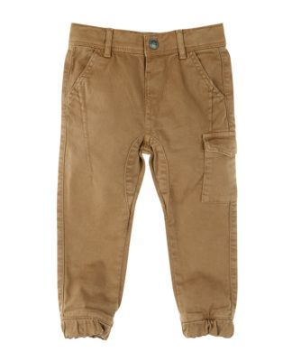 Mothercare Truck Stop Pop Stone Woven Trousers