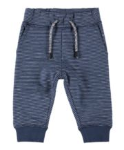 Navy Stripe Joggers