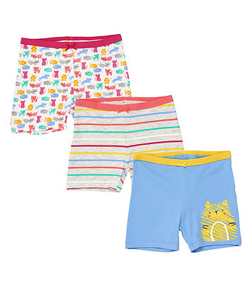 Mothercare Cat Briefs - 3 Pack
