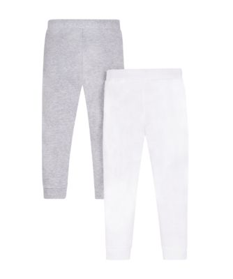 Mothercare Grey And White Thermal Long Johns - 2 Pack