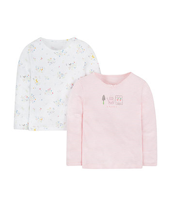 Pretty Flowers Thermal Vests - 2 Pack