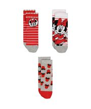Disney Minnie Mouse Socks - 3 Pairs