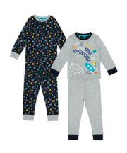 Space Adventurer Pyjamas - 2 Pack