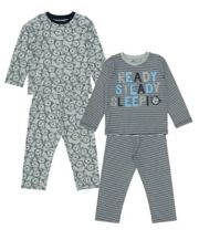 Monkey Pyjamas - 2 Pack