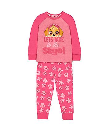 Mothercare Pink Paw Patrol Skye Pyjamas