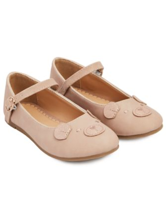 Mothercare Pink Mouse Shoes