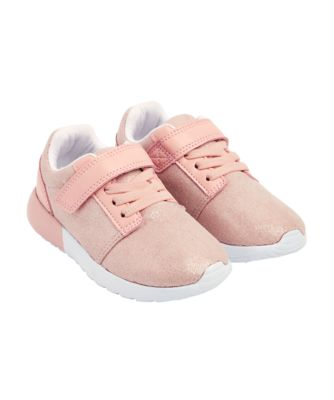 Mothercare Pink Shimmer Trainers