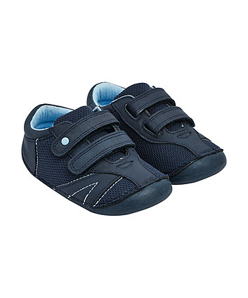 Mothercare Navy Crawler Trainers
