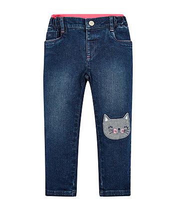 Cat Rib Waist Jeans