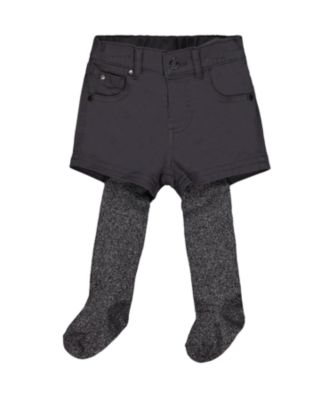 Mothercare Stellar Dancer Charcoal Shorts And Tights Set