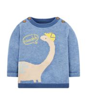 Knitted Dinosaur Jumper